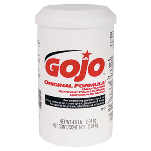 GOJO ORIGINAL FORMULA Hand Cleaner, 4.5lb, White, 6/Carton (GOJ 1115)