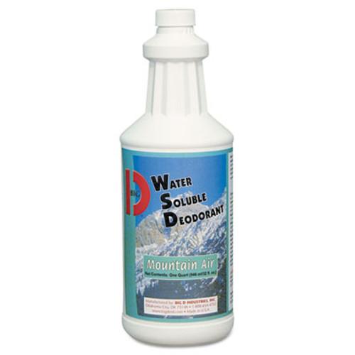 Big D Industries Water-Soluble Deodorant, Mountain Air, 32oz, 12/Carton (BGD 358)