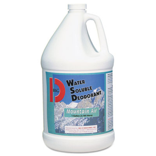 Big D Industries Water-Soluble Deodorant, Mountain Air, 1gal, 4/Carton (BGD 1358)