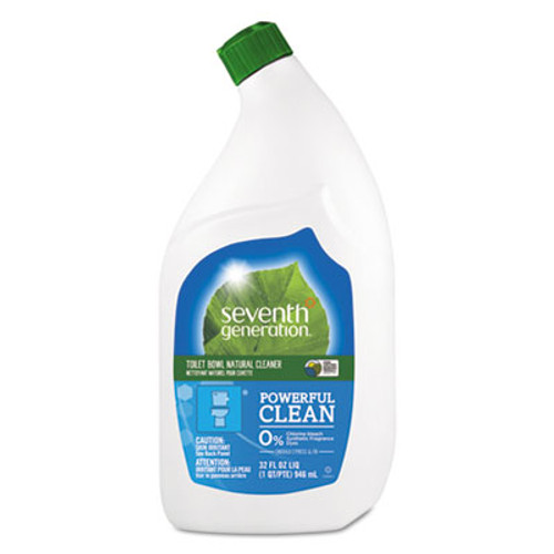 Seventh Generation Natural Toilet Bowl Cleaner, Emerald Cypress & Fir, 32 oz Bottle, 8/Carton (SEV 22704)