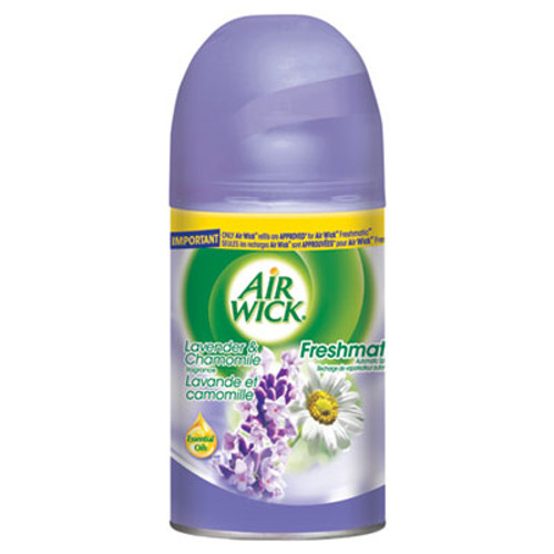 Air Wick Freshmatic Ultra Automatic Spray Refill, Lavender/Chamomile,Aerosol,6.17 oz,6/CT (REC 77961)