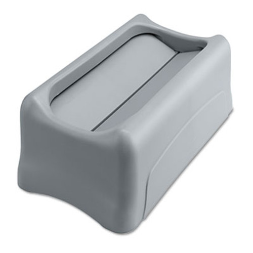 Rubbermaid Swing Lid for Slim Jim Waste Container, Gray (RCP 2673-60 GRA)