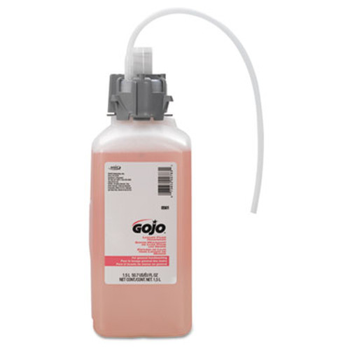 GOJO CX and CXI Luxury Foam Hand Wash, Cranberry Liquid, 1500mL Refill (GOJ 8561-02)