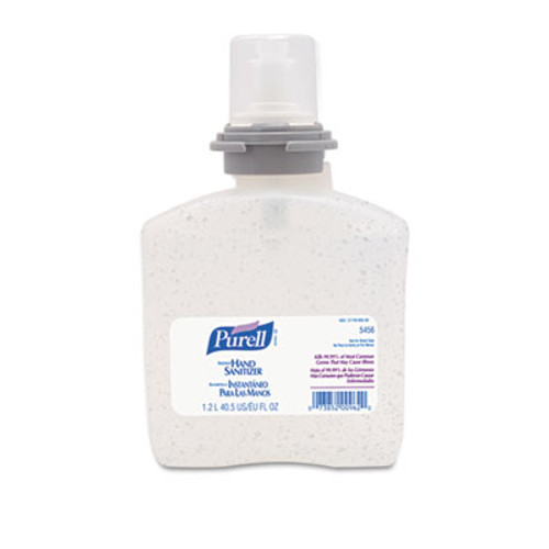 PURELL Advanced TFX Gel Instant Hand Sanitizer Refill, 1200mL (GOJ 5456-04)