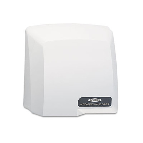 Bobrick Compact Automatic Hand Dryer, 115V, Gray (BOB 710)