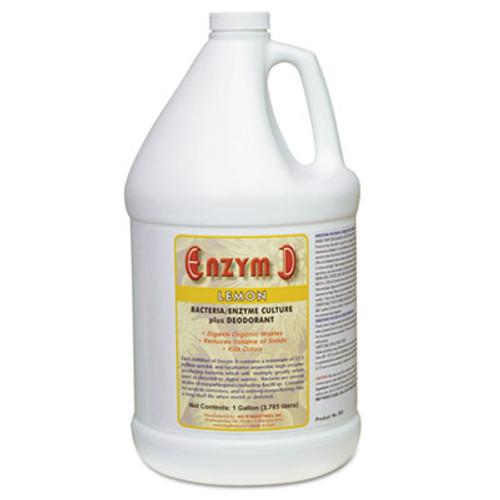 Big D Industries Enzym D Digester Liquid Deodorant, Lemon, 1gal, 4/Carton (BGD 1500)