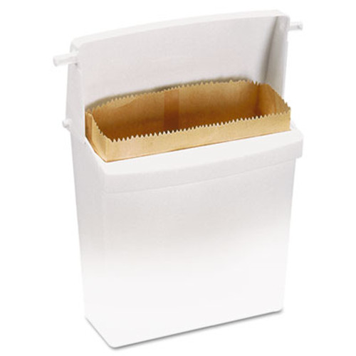 Rubbermaid Waxed Napkin Receptacle Liners, 2 3/4 x 8 34 x 8 1/2, Brown (RCP 6141)