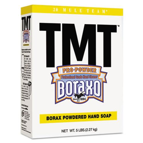 Boraxo TMT Powdered Hand Soap, Unscented Powder, 5lb Box, 10/Carton (DIA02561CT)