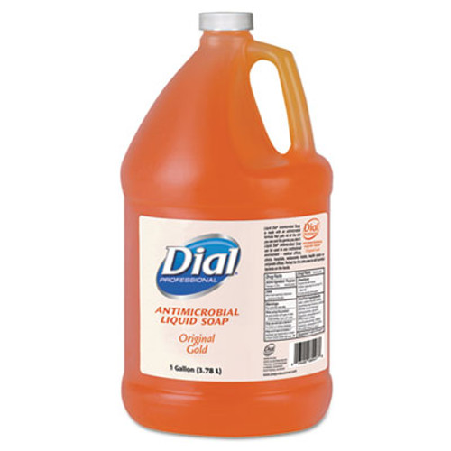 Dial Gold Antimicrobial Liquid Hand Soap, Floral Fragrance, 1gal Bottle, 4/Carton (DIA 88047)