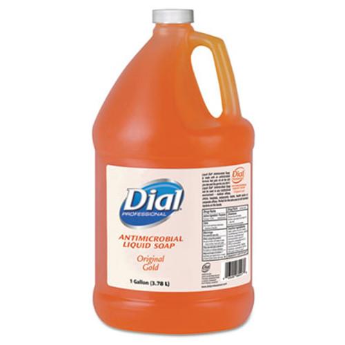 Dial Gold Antimicrobial Liquid Hand Soap, Floral Fragrance, 1gal Bottle, 4/Carton (DIA 88047)