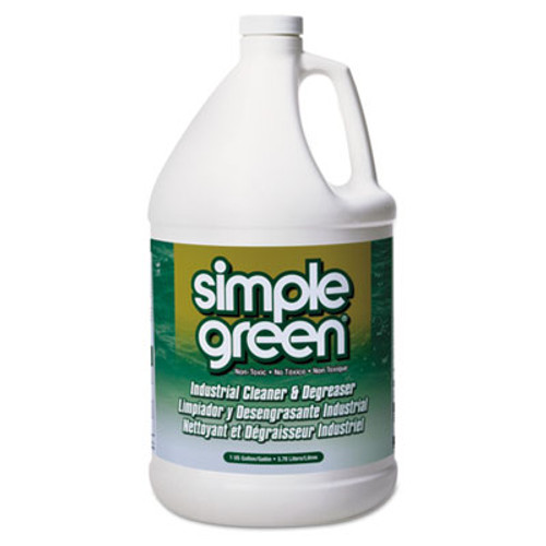 Simple Green Industrial Cleaner & Degreaser, Concentrated, 1 gal Bottle, 6/Carton (SMP 13005)