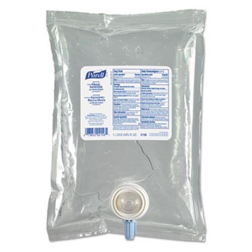 PURELL Advanced Instant Hand Sanitizer NXT Refill, 1000mL, 8/Carton (GOJ 2156-08)