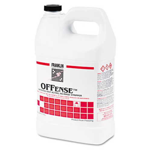 Franklin Cleaning Technology OFFense Floor Stripper, 1gal Bottle, 4/Carton (FRK F218022)