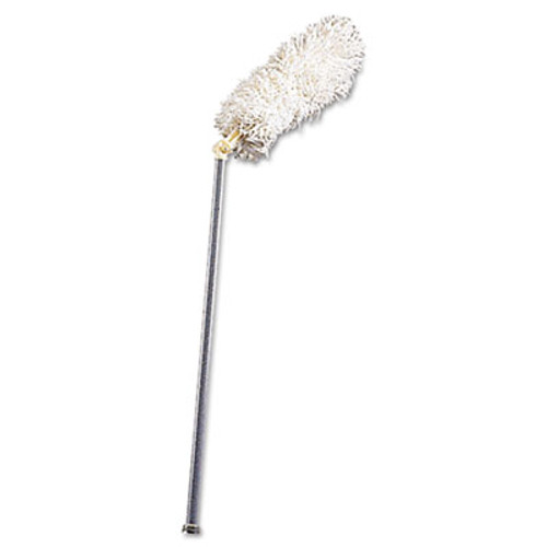 """Rubbermaid HiDuster Dusting Tool with Angled Lauderable Head, 51"""" Extension Handle (RCP T120)"""