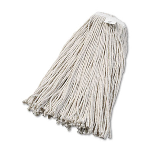 Boardwalk Cut-End Wet Mop Head, Cotton, No. 32, White, 12/Carton (UNS 2032C)