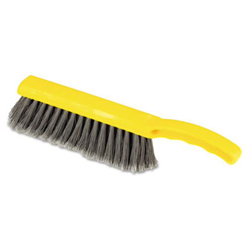"""Rubbermaid Commercial Countertop Brush, Silver, 12 1/2"""" Brush (RCP 6342 SIL)"""