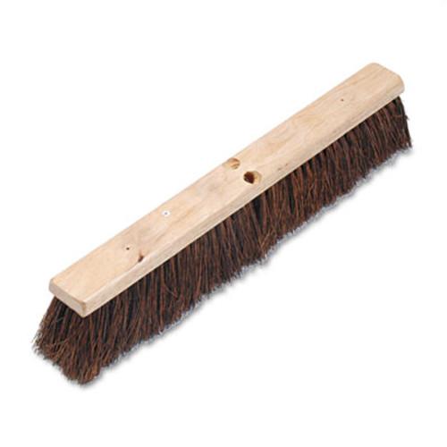 "Boardwalk Floor Brush Head, 3 1/4"" Natural Palmyra Fiber, 24"" (BWK 20124)"
