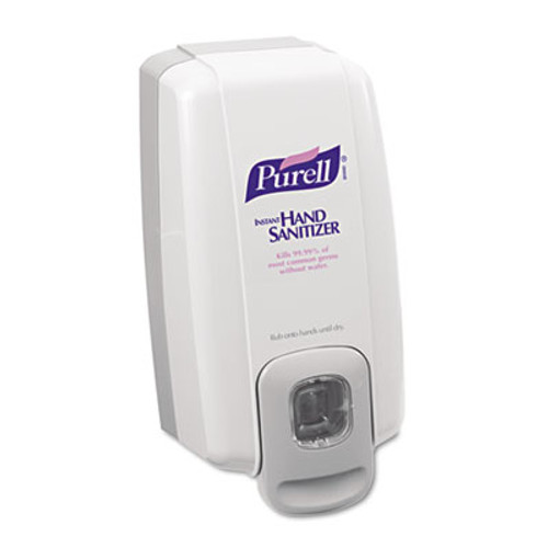 PURELL NXT Instant Hand Sanitizer Dispenser, 1000mL, 5 1/8w x 4d x 10h, WE/Gray (GOJ 2120-06)