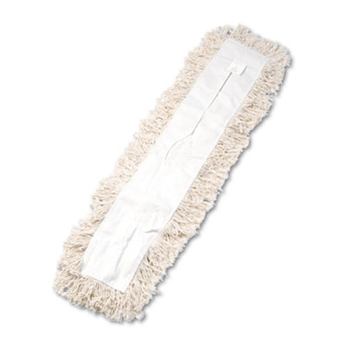Boardwalk Industrial Dust Mop Head, Hygrade Cotton, 36w x 5d, White (UNS 1336)