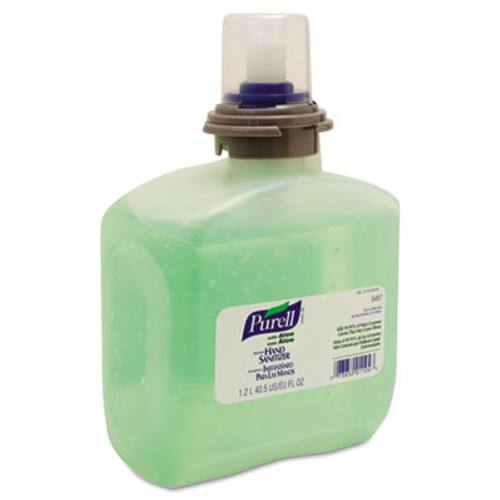 PURELL Advanced TFX Gel Instant Hand Sanitizer Refill w/Aloe, 1200mL (GOJ 5457-04)