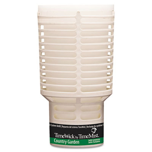 TimeMist TimeWick Dispenser Refill, Country Garden, 6/Carton (TMS 67-6122TM)