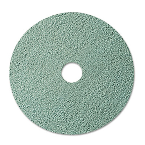 "3M Burnish Floor Pad 3100, 20"" Diameter, Aqua, 5/Carton (MCO 08753)"