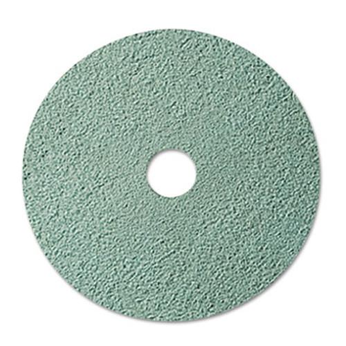 """3M Burnish Floor Pad 3100, 20"""" Diameter, Aqua, 5/Carton (MCO 08753)"""