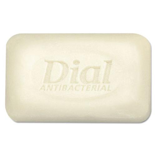 Dial Antibacterial Deodorant Bar Soap, Unwrapped, White, 2.5oz, 200/Carton (DIA 00098)