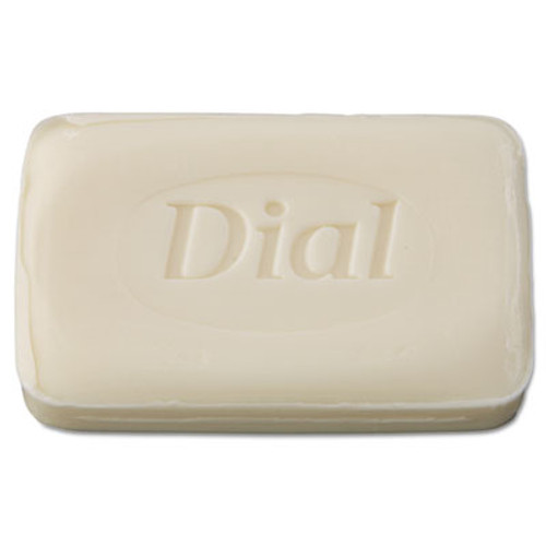 Dial Individually Wrapped Deodorant Bar Soap, White, # 3 Bar, 200/Carton (DIA 00197)
