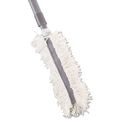 """Rubbermaid Super HiDuster Dusting Tool with Straight Lauderable Head, 61"""" Extension Handle (RCP T130)"""