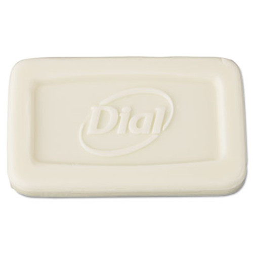 Dial Individually Wrapped Basics Bar Soap, # 1 1/2 Bar, 500/Carton (DIA 06010)