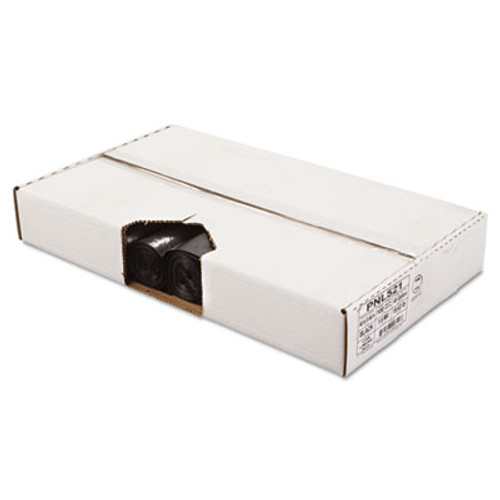 Penny Lane Perforated Coreless Roll Can Liner, 1.6 Mil, 40x46, Black, 10 Bag/Roll, 10 RL/CT (PNL 521)