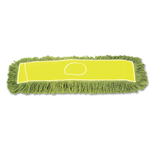 Boardwalk Echo Dustmop, Synthetic/Cotton, 24w x 5d, Green (UNS ECHO245LGSP)