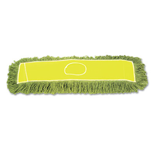 "Boardwalk Echo Dustmop, Synthetic/Cotton, 36"" x 5"", Green, 12/Carton (UNS ECHO365LGSP)"