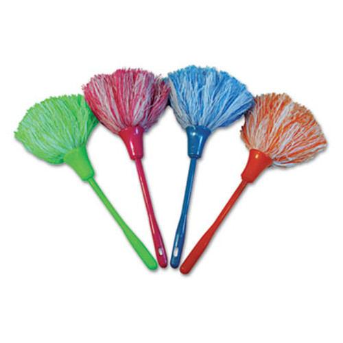 """Boardwalk MicroFeather Mini Duster, Microfiber Feathers, 11"""", Assorted Colors (UNS MINIDUSTER)"""
