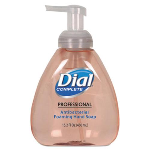 Dial Antimicrobial Foaming Hand Wash, Original Scent, 15.2oz, 4/Carton (DIA 98606)