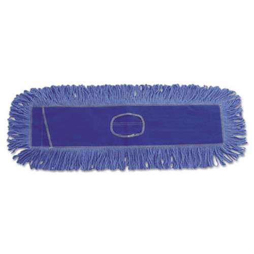 Boardwalk Mop Head, Dust, Looped-End, Cotton/Synthetic Fibers, 24 x 5, Blue (UNS 1124)