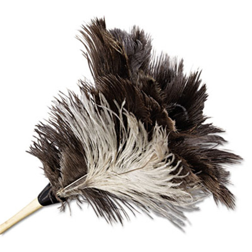 "Boardwalk Professional Ostrich Feather Duster, 7"" Handle (UNS 13FD)"