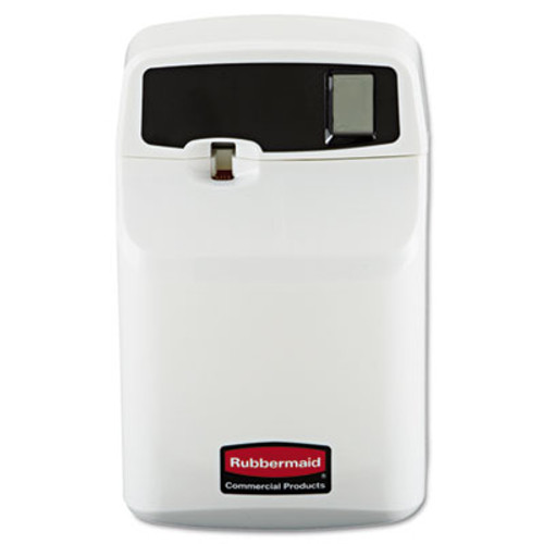 Rubbermaid SeBreeze Programmable Odor Neutralizer Dispenser, 4 3/4 x 3 1/8 x 7 1/2, White (RCP 5169)