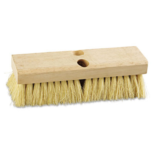 "Boardwalk Deck Brush Head, 10"" Wide, Tampico Bristles (BWK 3210)"