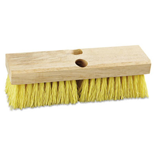 "Boardwalk Deck Brush Head, 10"" Wide, Polypropylene Bristles (BWK 3310)"