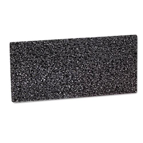 3M Doodlebug Hi-Productivity Stripping Pad, 4 5/8 x 10, Black, 40/Carton (MCO 05241)