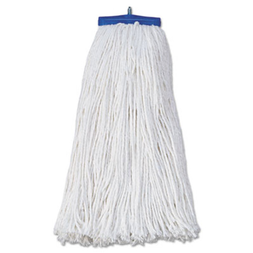 Boardwalk Mop Head, Economical Lie-Flat Head, Rayon Fiber, 20oz, White, 12/Carton (UNS 720R)