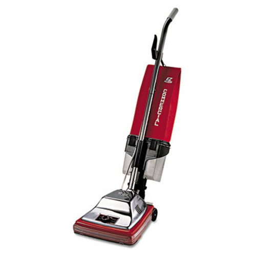 """Sanitaire Commercial Upright with EZ Kleen Dirt Cup, 7 Amp, 12"""" Path, Red/Steel (EUR 887)"""