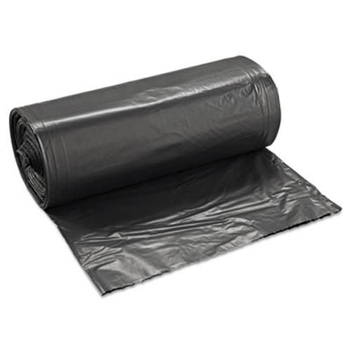 Boardwalk SH-Grade Repro Can Liners, 40x46, 45gal, 1.2mil, Black, 10 Bag/Roll, 10 Roll/CT (BWK 517)