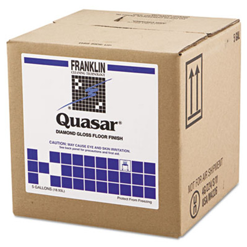Franklin Cleaning Technology Quasar High Solids Floor Finish, 5gal Box (FRK F136025)