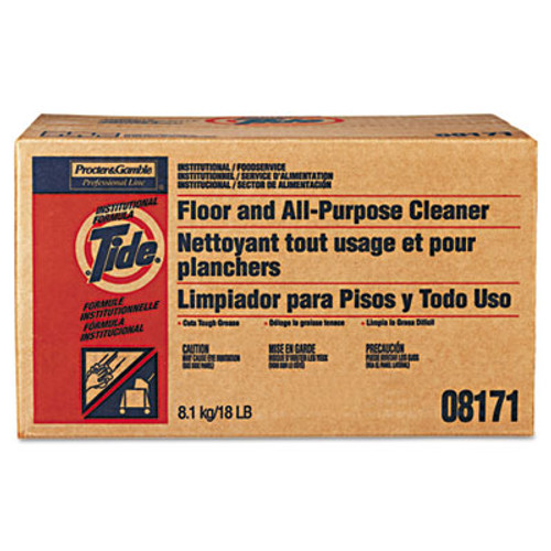 Tide Floor and All-Purpose Cleaner, 18lb Box (PGC 02363)