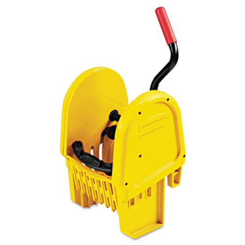 Rubbermaid WaveBrake Down-Press Wringer, Yellow (RCP 7575-88 YEL)