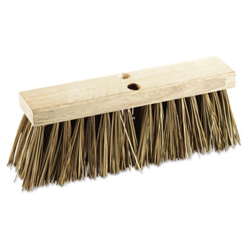 "Boardwalk Street Broom Head, 16"" Wide, Palmyra Bristles (BWK 71160)"