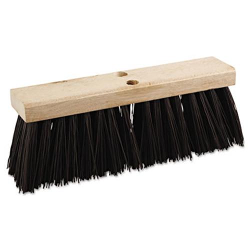 """Boardwalk Street Broom Head, 16"""" Wide, Polypropylene Bristles (BWK 73160)"""